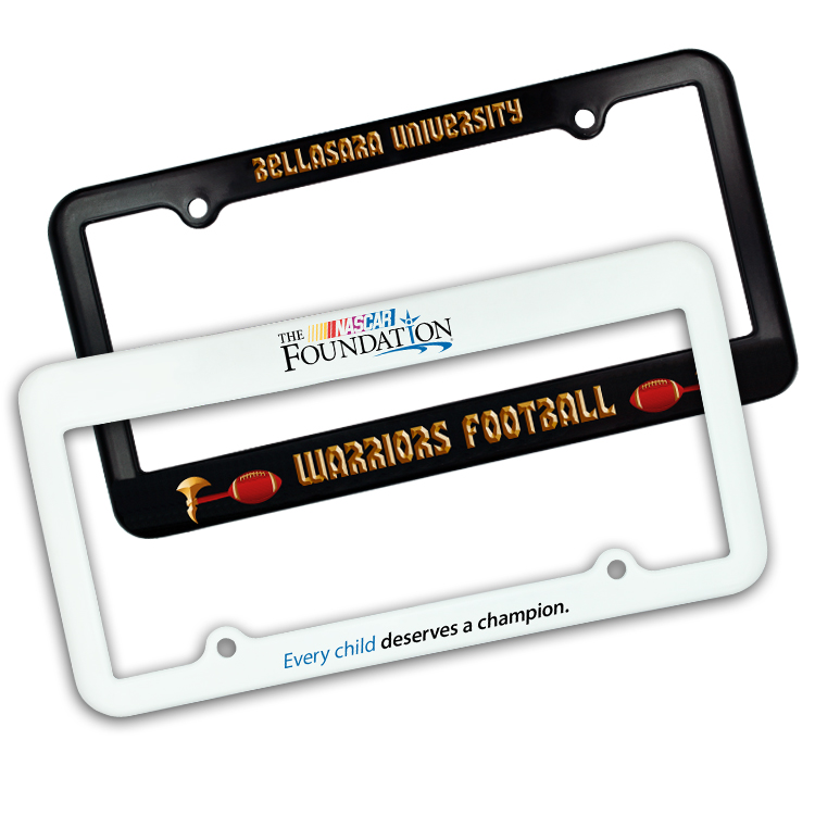 License Plate Frame - 2 Holes, Full Color Digital
