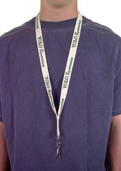 Full Color Lanyard with Split Ring