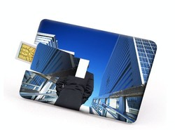 8GB Credit Card 400 Series - USB Drive
