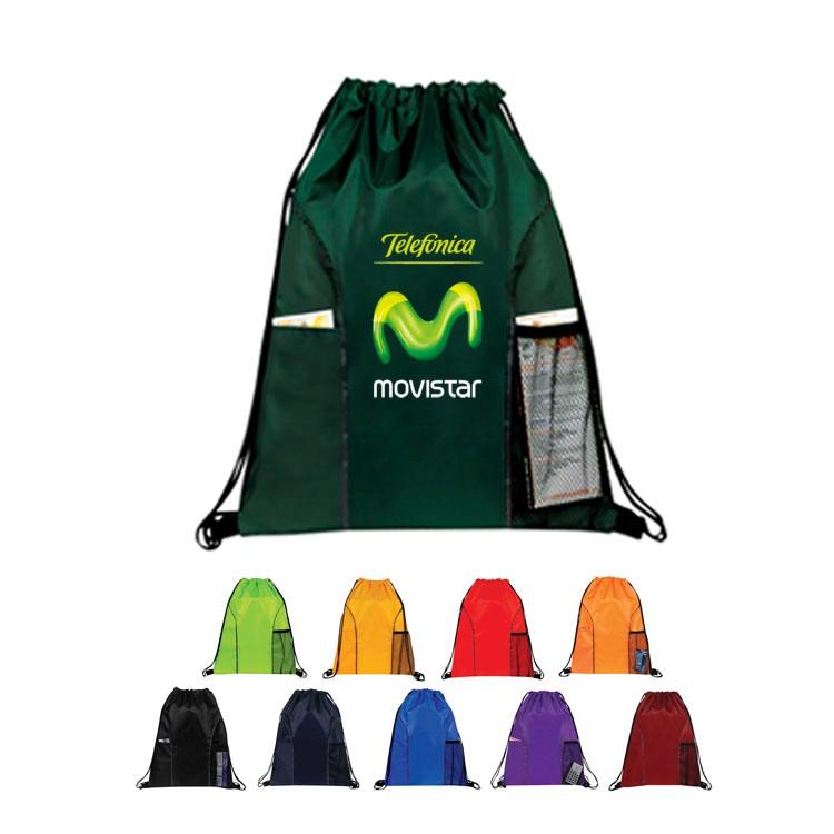 Pockets Drawstring Bag(Bag, Backpack)