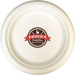 Compostable Paper Plates - 6.75 - Screen Printed