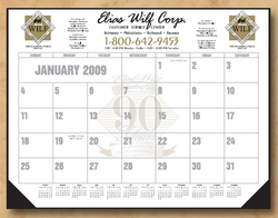 The Economy Line Standard Desk Calendar