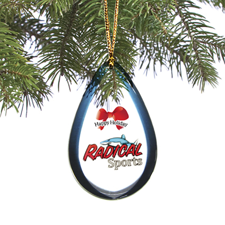 Custom shaped Holiday / Christmas Ornament / Charm / Tag (Single Sided) from 4.1 - 5 Sq. In.