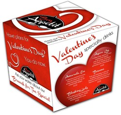 Table Tent - Five Sided Box - UV Coated (1S) - 3.75x4 Folded