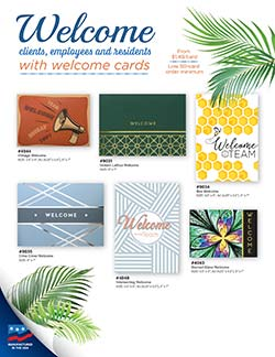 Welcome Cards from Warwick Publishing