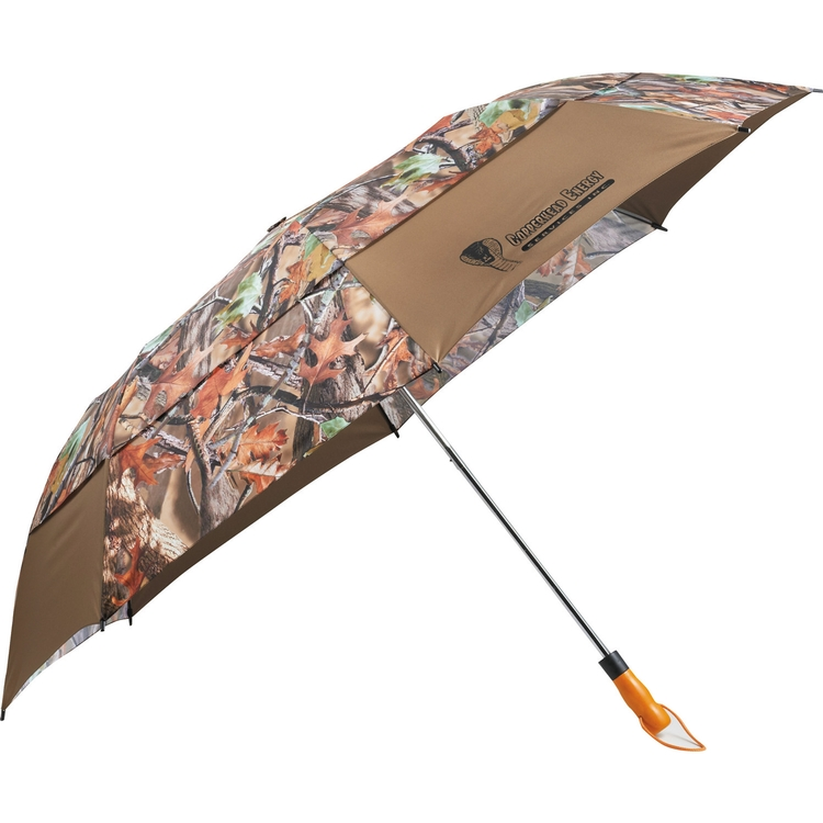 Hunt Valley® 58 Inch Vented Auto Open Folding Camouflage Umbrella CLEARANCE