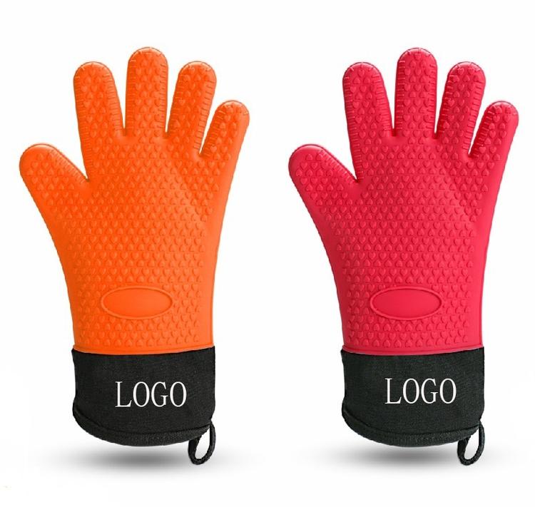 Silicone Fingers Oven Glove