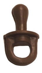 CHOCOLATE BABY PACIFIER