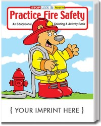 COLORING BOOK - Practice Fire Safety Coloring & Activity Book - Coloring Book