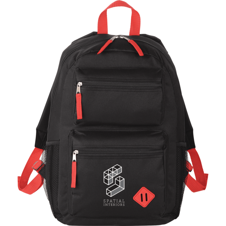 Double Pocket 15 Computer Backpack