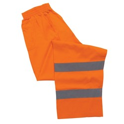 S21 Aware Wear ANSI Class E Hi-Viz Orange Pants (X-Large)