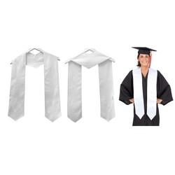 Silken Graduation Honor Stole, Blank