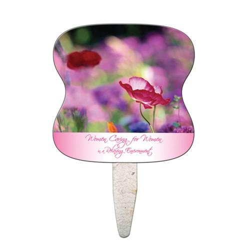 Hourglass Mini Seed Stick Fan