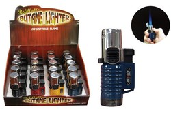The Galaxy Torch Lighter Triple Flame Display Box of 20