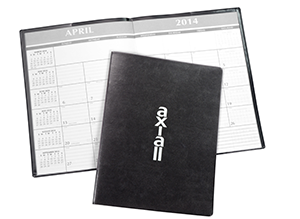 Shop Desk Planners & Pocket Calendars with your logo.