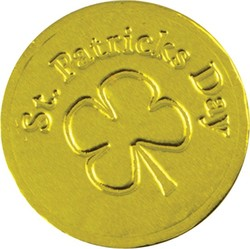 St. Patricks Day Chocolate Coin