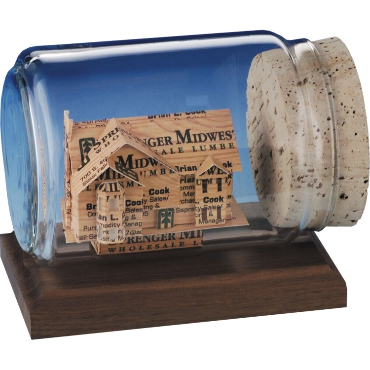 Business Card Sculpture - House