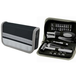 30pc Tool Set in polyester zippered around pouch