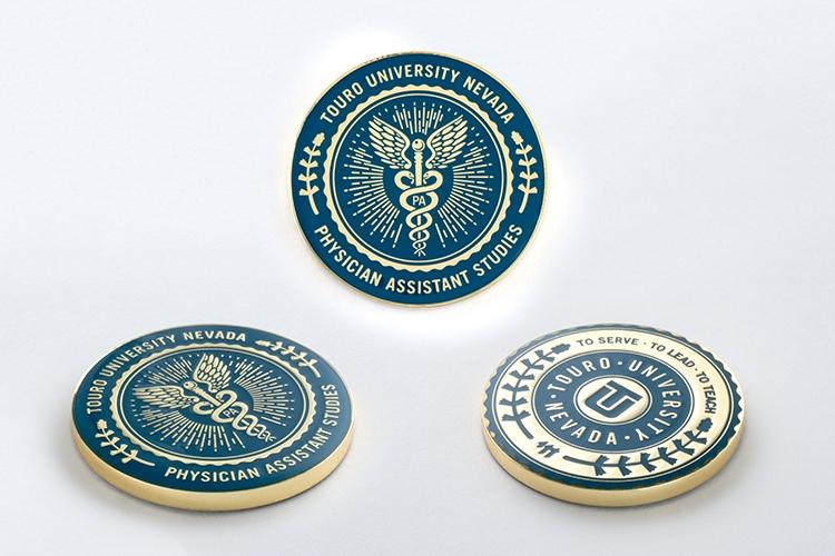 Alloy Soft Enamel Education Coins - 6701DCA | HigmanGraphics com