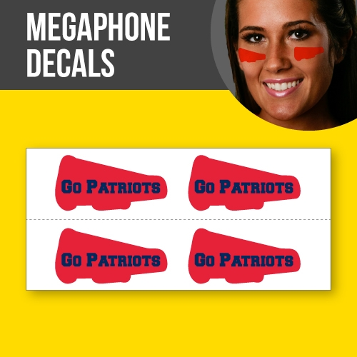 Megaphone Skin Decals