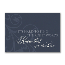 Right Words Greeting Card