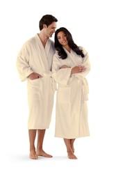 Basic Kimono Cotton Terry Bathrobe 12 oz.
