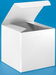 White Gloss Gift Box (4x4x4)