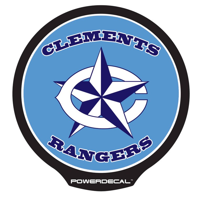 Clements Rangers POWERDECAL™