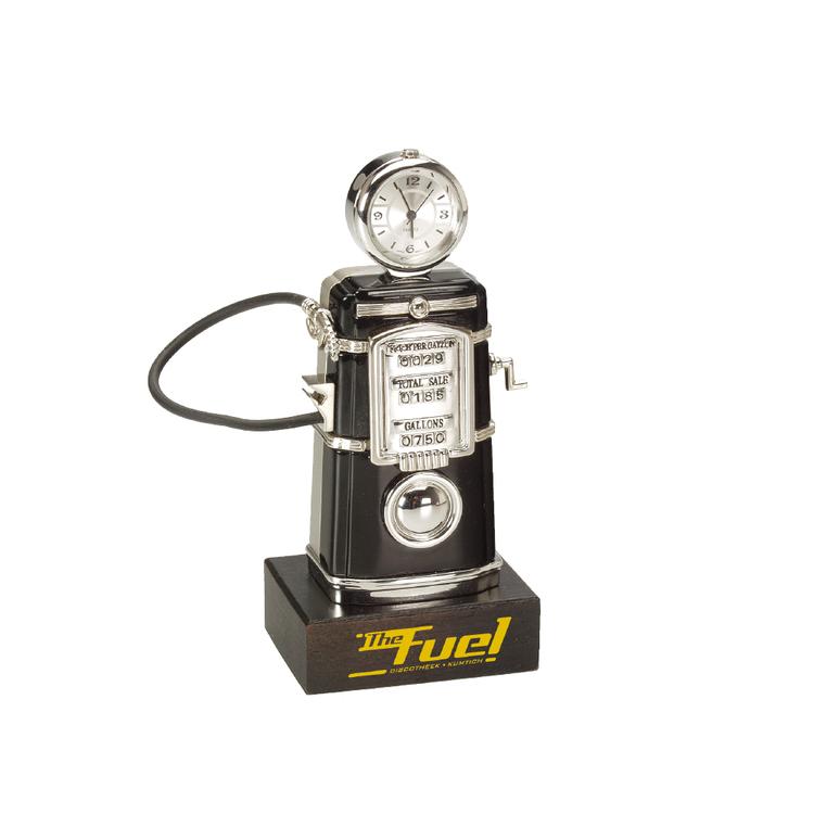Die Cast Fuel Pump Clock