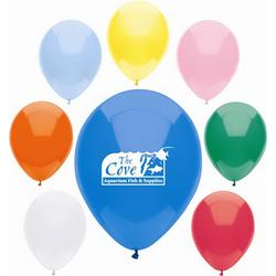 11 AdRite™ Latex Balloons Basic Colors