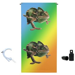 2' x 4' Hang it Anywhere Vertical Banner & Display Hardware