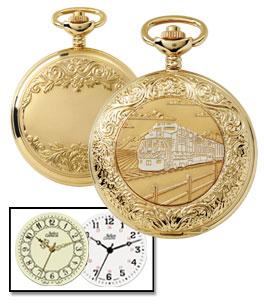 Crown Pocket Watch