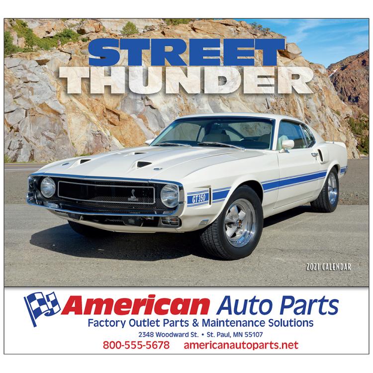 Street Thunder appointment calendar