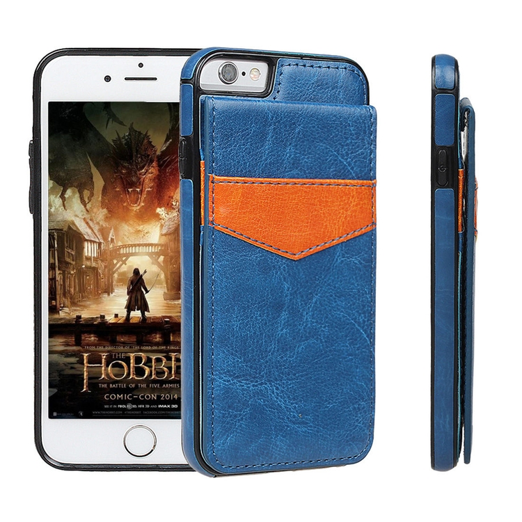 separation shoes 75b90 59fad iBank® Luxury Credit Card Holder PU Leatherette Stand Case for iPhone 7/8  Plus (5.5