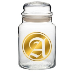 31 oz. Glass Apothecary Jar with Lid