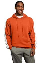 DISCONTINUED Sport-Tek - Pullover Hooded Sweatshirt with Stripe.