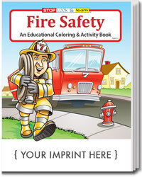 COLORING BOOK - Fire Safety Coloring & Activity Book - Coloring Book