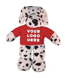 Soft Plush Dalmatian with tee Stuffed Animal