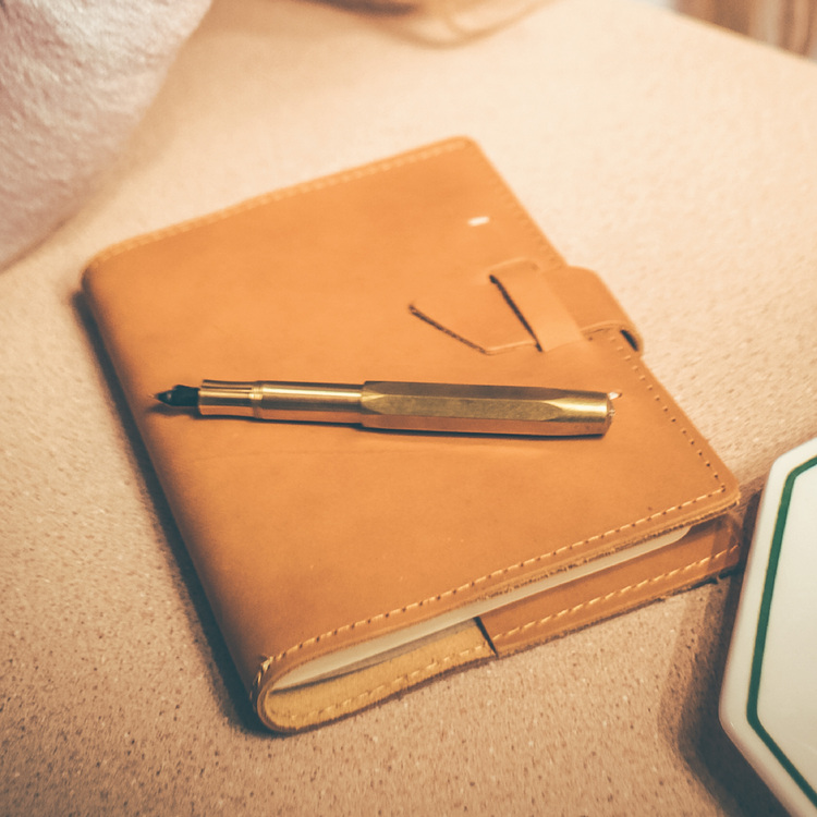 Wasatch Refillable Leather Notebook