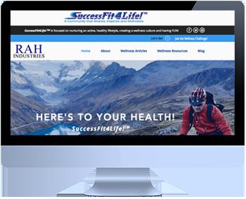 Custom-Branded Website