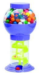 9-3/4 Assorted Color Spiral Bubble Gum Machine