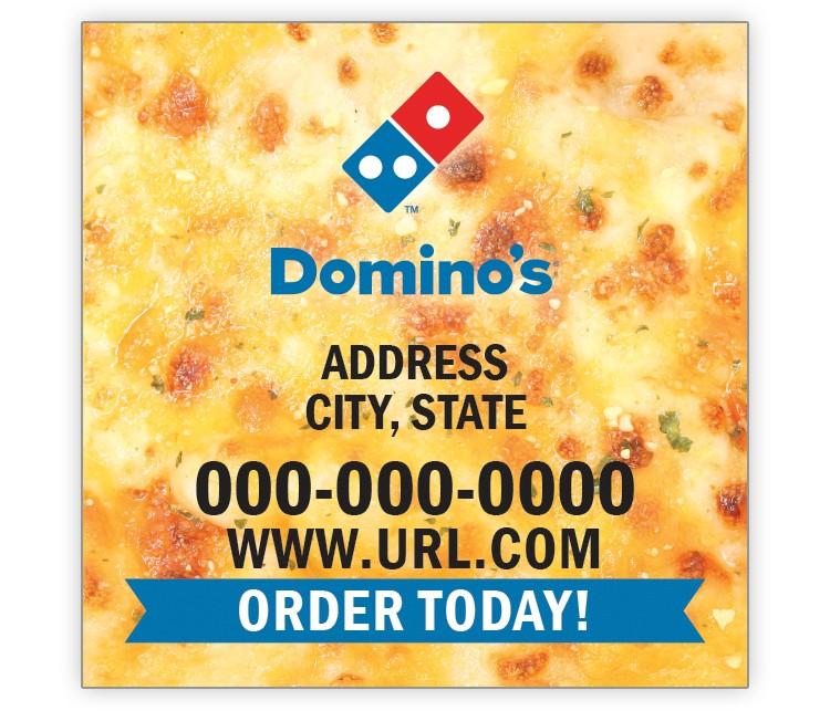 Domino's Pizza 2x2 Magnet