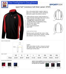 WSFA Men's Sport-Tek Colorblock Soft Shell Jacket