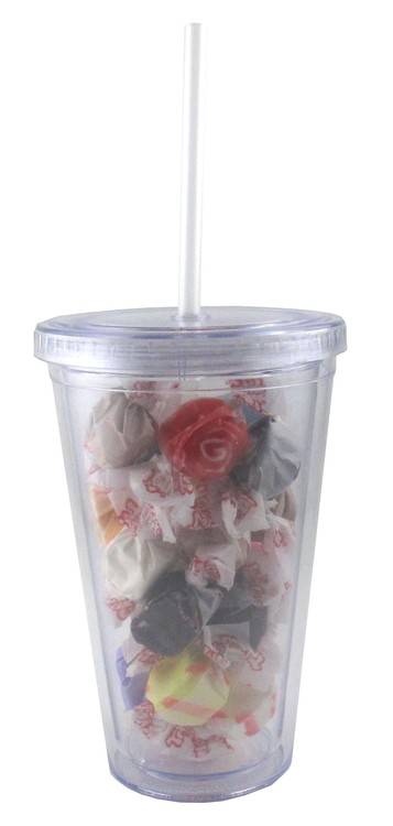 Tumbler with Salt Water Taffy