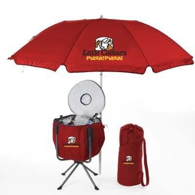 Party Cooler W/ Umbrella
