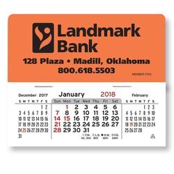 Mega Peel-N-Stick&#8482 Calendars-Rectangle