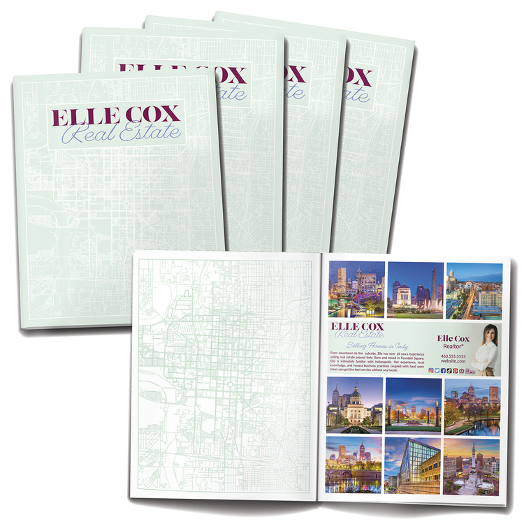 12-page (8.5x11) Booklet, Brochure or Catalog