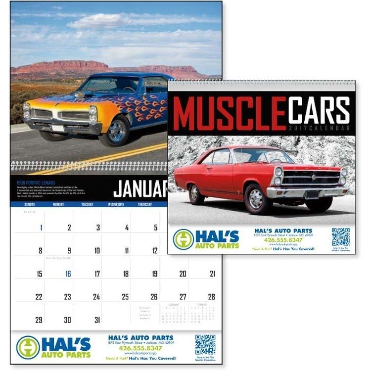 Hot Rod Classic Antique Car Calendars With Your Logo Custom ...