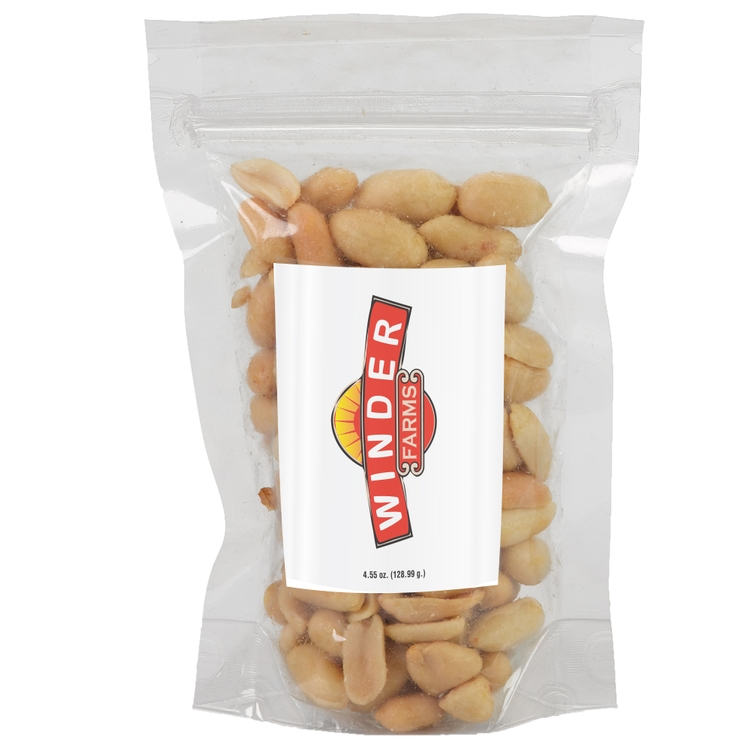 3 x 5 STAND UP POUCH W/ PEANUTS