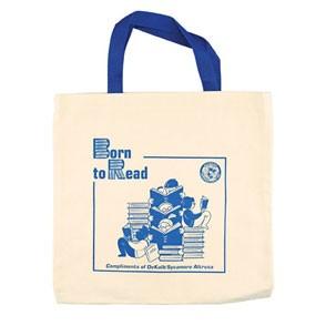 Natural Canvas Flat Tote Bag (14